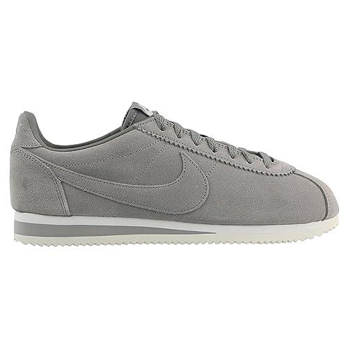 super popular 8cccc 5f536 Nike - Zapatillas de Piel para Hombre Khaki (Cargo Khaki Summit White),  Color Gris, Talla 47  Amazon.es  Zapatos y complementos