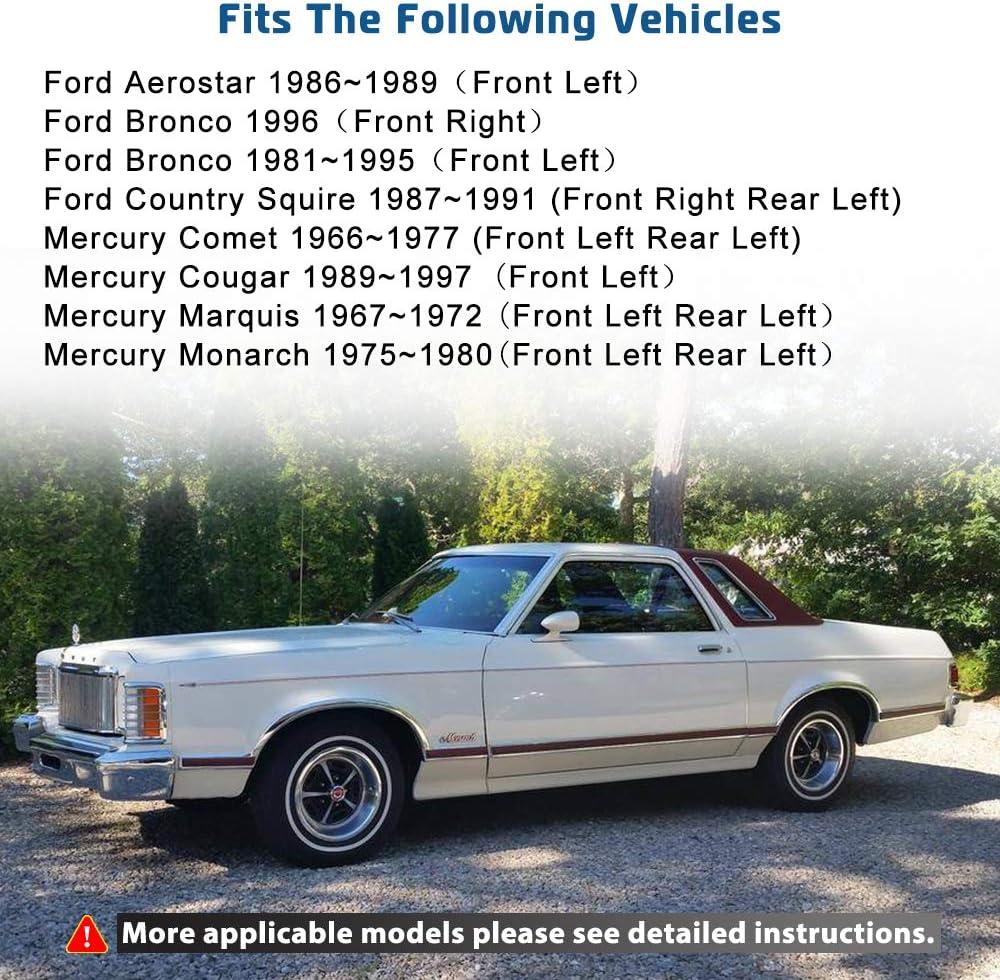 Power Window Lift Motor Fit For Ford F150 F250 F350 Aerostar Front left Window Regulator Motor Replace Part # 742-250 11M104