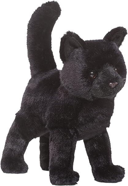 Amazon Com Cuddle Toys 1867 30 Cm Long Midnight Black Cat Plush Toy