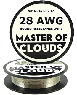 Nichrome 80 50 ft 26 gauge awg resistance wire 040mm 26g 50 nichrome 80 50 ft 28 gauge awg resistance wire 032mm 28g 50 keyboard keysfo Gallery
