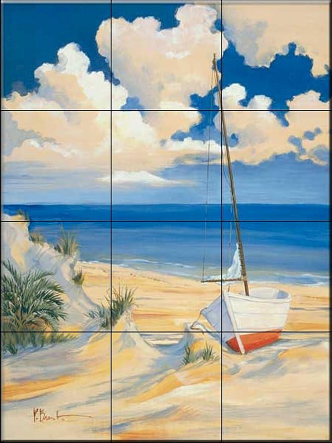 Fliesenwandbild - Costa Del Sol 1 - von Paul Brent - Küche ...