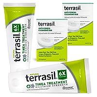 Terrasil Tinea Versicolor Treatment Max (Two 50g Tubes & Two soap Bars)