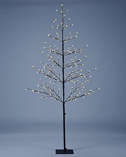 Amazoncom Lightshare 6 Ft Led Tree Northern Lights Pre Lit Tree