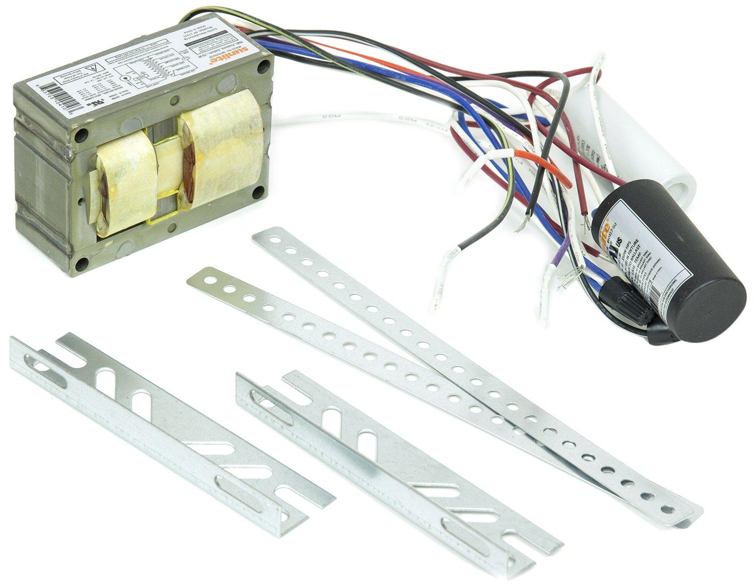Sunlite 40410-SU SB70/H/QT 70-watt High Pressure Sodium Ballast Quad Tap Ballast Kit, Multi volt