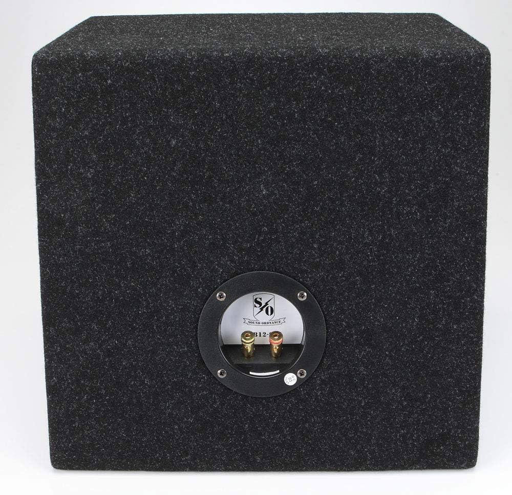 "Sound Ordnance BB12-95S Single 12/"" Sealed Box 0.95 cu.ft"