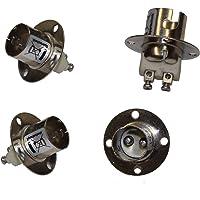 4 stuks fitting BAY15D fitting voor BAY-15D lampen 12V 24 Volt voor lamp positielamp met bajonetsluiting met sterke veer…
