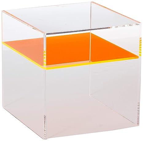 Amazon.com: Mesa pequeña de acrílico M56 – Mesa final de ...