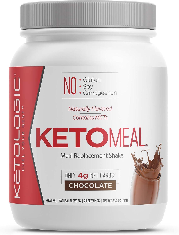 KetoLogic 20 Servings Keto Meal Replacement Shake Powder $31.99 Coupon