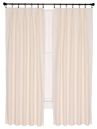Curtains Ideas 144 inch long length curtains : Amazon.com: Ellis Curtain Crosby Thermal Insulated 144 by 84-Inch ...