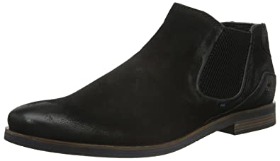 Mens 312173203500 Ankle Boots, Black (Black 1000) Bugatti