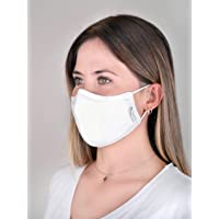 EOC TSEK Plus, TSEK ve CE Belgeli Çift Kat Yıkanabilir Maske Beyaz M