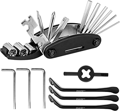 Bicycle Valve Core Multi-Function Tool Removal Wrench Screwdriver Sports Tools