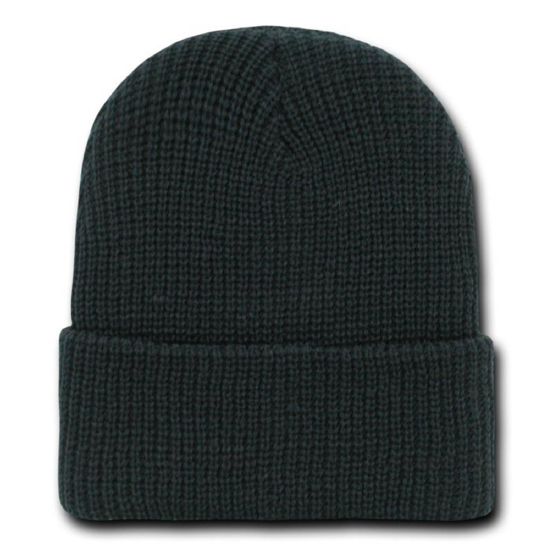 2c1b5d7eef5 Amazon.com  BLACK DECKY LONG WATCH CAP BEANIE SKI CAP CAPS HAT HATS CUFFED   Clothing