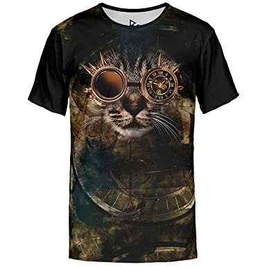 Blowhammer T-Shirt Herren - Steam Cat  Amazon.de  Bekleidung eace0b962b