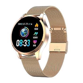 Teabelle Smartwatch Pantalla a Color Mujer Presión Arterial ...