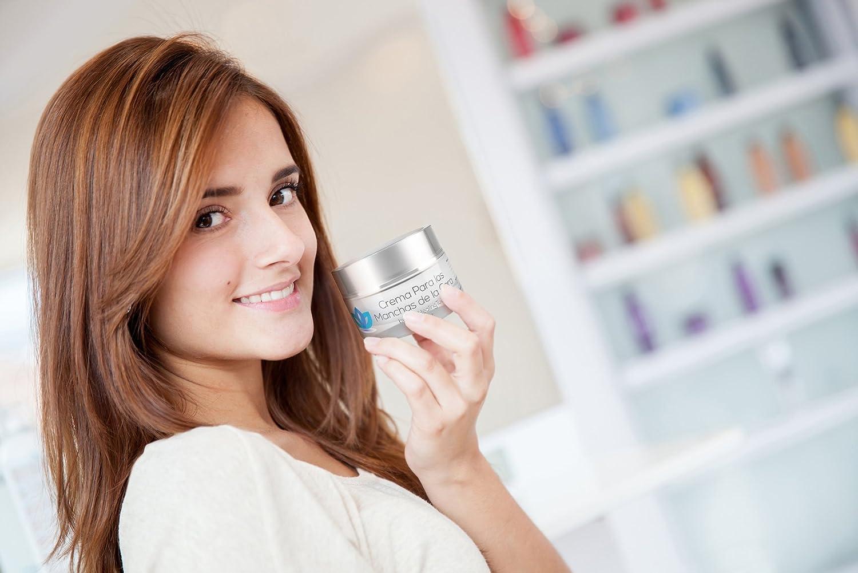 Crema Para Las Manchas de La Cara: Elimina las Manchas Obscuras del Acne, el Sol, Edad, y Arrugas. Embellece tu Rostro con este Humectante Facial ...