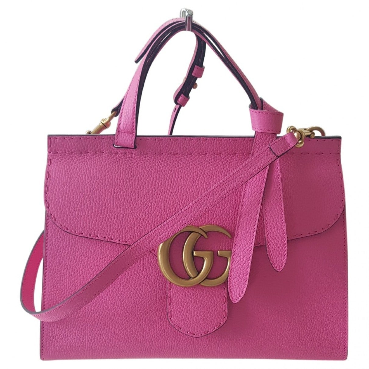 2911be629862 Amazon.com  Gucci Emily Guccissima Leather Chain Shoulder Bag Storm Gray  Leather New  Shoes