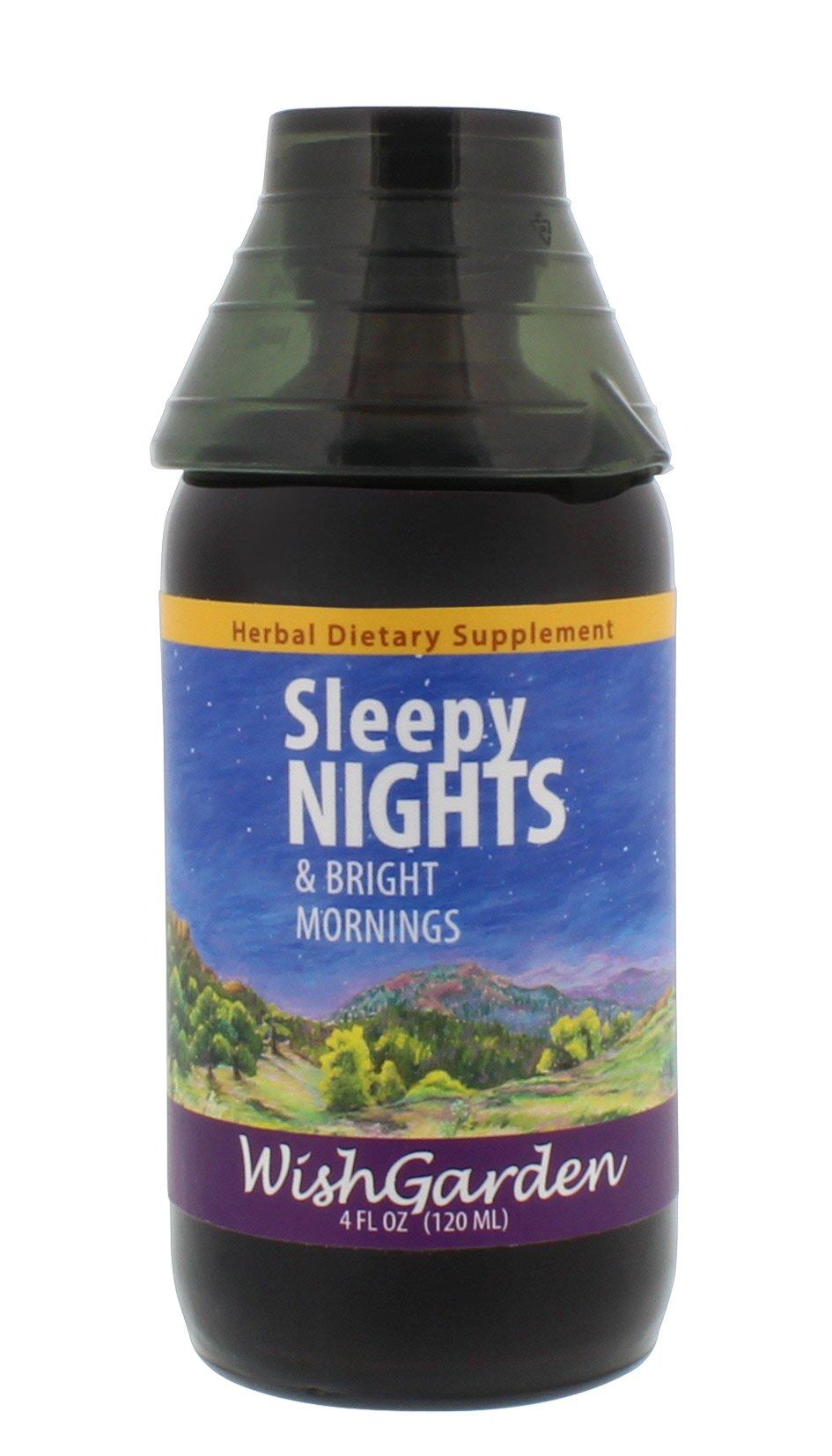 WishGarden Herbs - Sleepy Nights, Organic Herbal Sleep Aid, Supports Healthy Sleep Cycles, Wake Up Fresh in the Morning (4 oz)