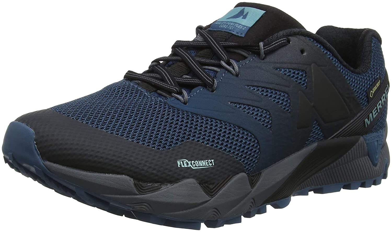 bluee (Superwash Superwash) Merrell Men's Agility Peak Flex 2 GTX Trail Running shoes