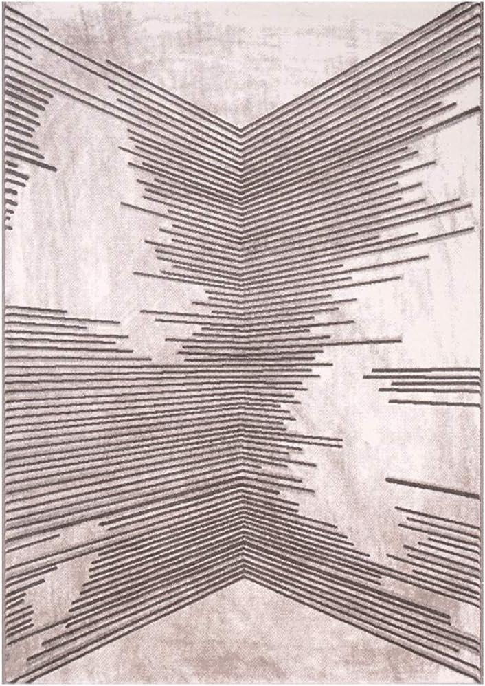 じゅうたん- 北欧幾何シンプルポリプロピレンカーペットリビングルームのベッドルーム長方形防汚カーペット (Color : 128, Size : 2x2.9m)