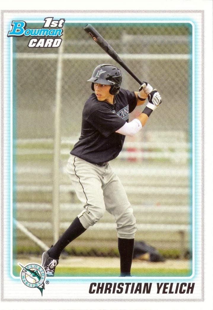 2010 Bowman Draft Picks & Prospects Baseball #BDPP78 Christian Yelich Pre-Rookie Card - 1st Bowman Card