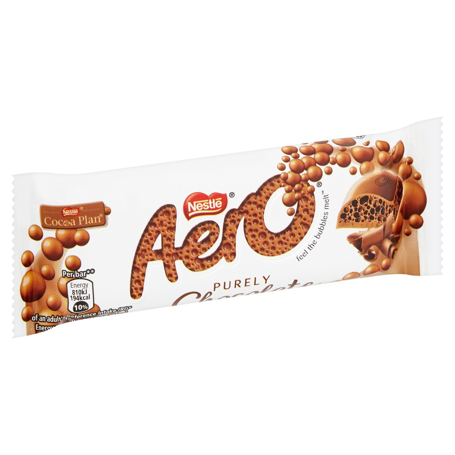 Aero Milk Chocolate Bar, 36 g, Pack of 36: Amazon.es: Alimentación y bebidas