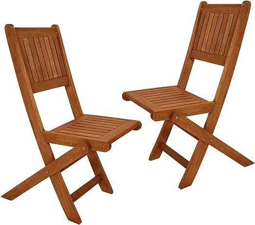 pliante Enfants chaise huilé d'eucalyptus 2 x uLLA en bois 76gyvIfmYb
