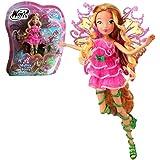 Winx Club - Mythix Fairy - Flora Poupée 28cm avec ceptre Mythix