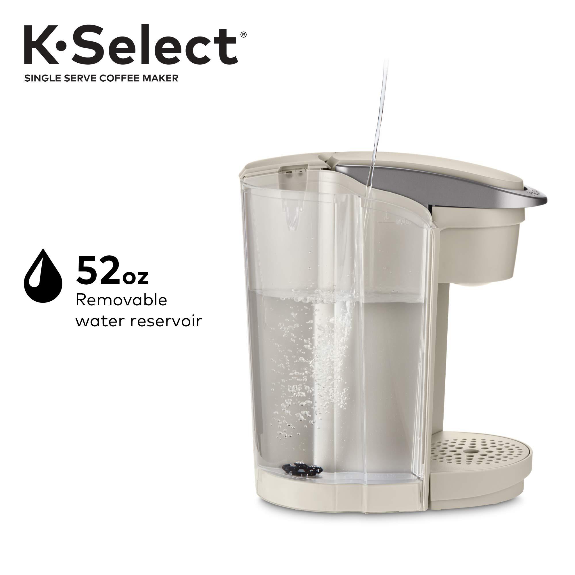 Keurig K-Select Single-Serve K-Cup Pod Coffee Maker, Sandstone by Keurig (Image #3)