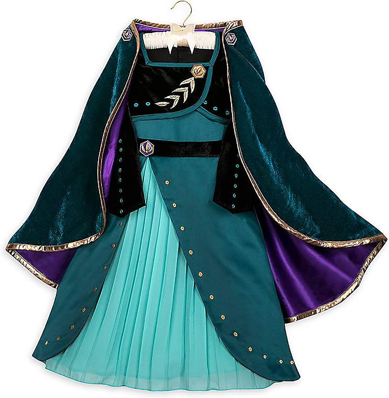 Frozen 2 Disney Anna Coronation Costume for Girls