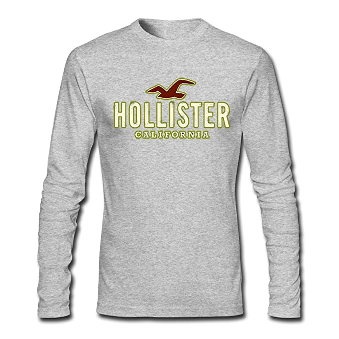 Hollister Co Graphic For Mens Long Sleeves Outlet: Amazon.es: Ropa y accesorios