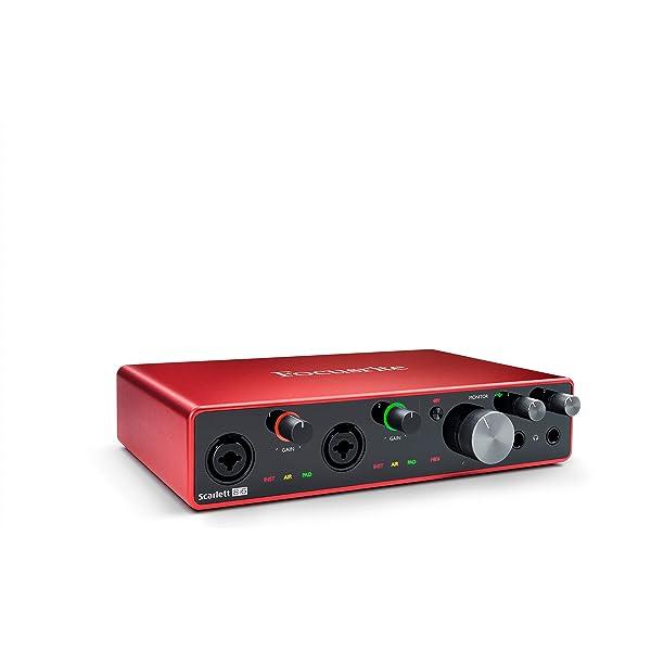 Focusrite Scarlett 8i6 3rd Gen - Interfaz de audio USB: Amazon.es ...