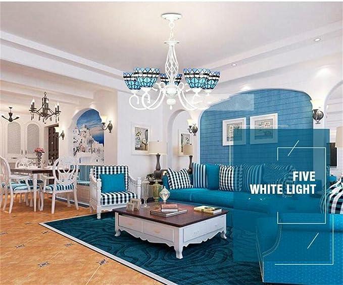 Continental Mediterraneo moderno lampadario soggiorno studio lampada ...