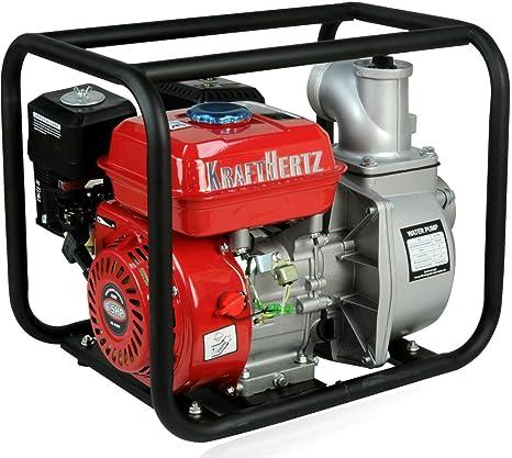Fuerza Hertz® Gasolina Bomba de agua del motor Bomba de aguas residuales barro Bomba Bomba