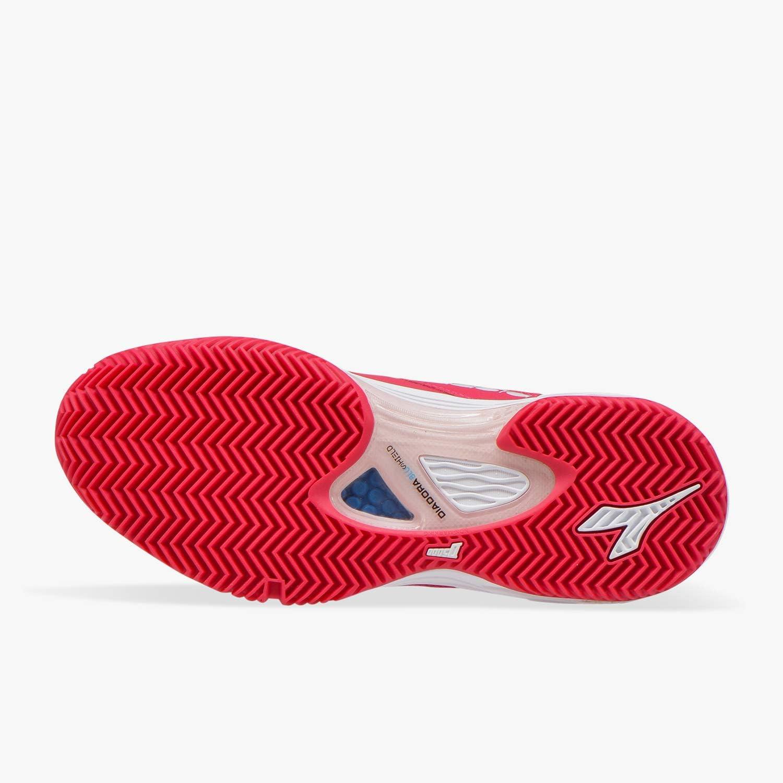 Diadora Speed Blushield Fly 2 Clay Sandplatzschuh Damen - Koralle, Rosa - Scarpe da Tennis Donna Rosa virtuale / bianco g5sovT