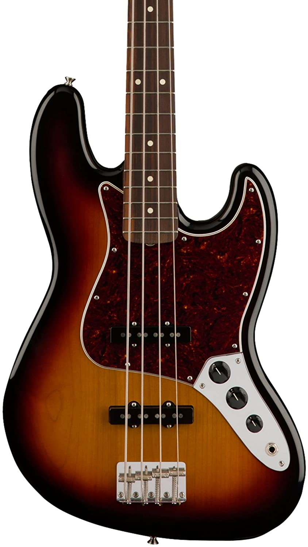 Classic '60s Jazz Bass Pau Ferro Fretboard 3-Color Sunburst