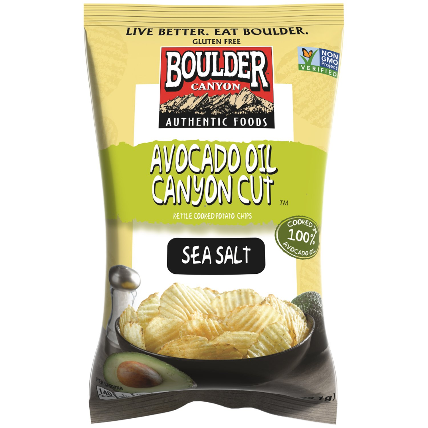 Kettle Cooked Chips ~ Amazon boulder canyon kettle cooked potato chips