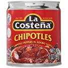 La Costena Chipotles Peppers In Adobo Sauce 199g