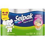 Selpak Kitchen Calorie Absorber Rolls (Pack of 6)