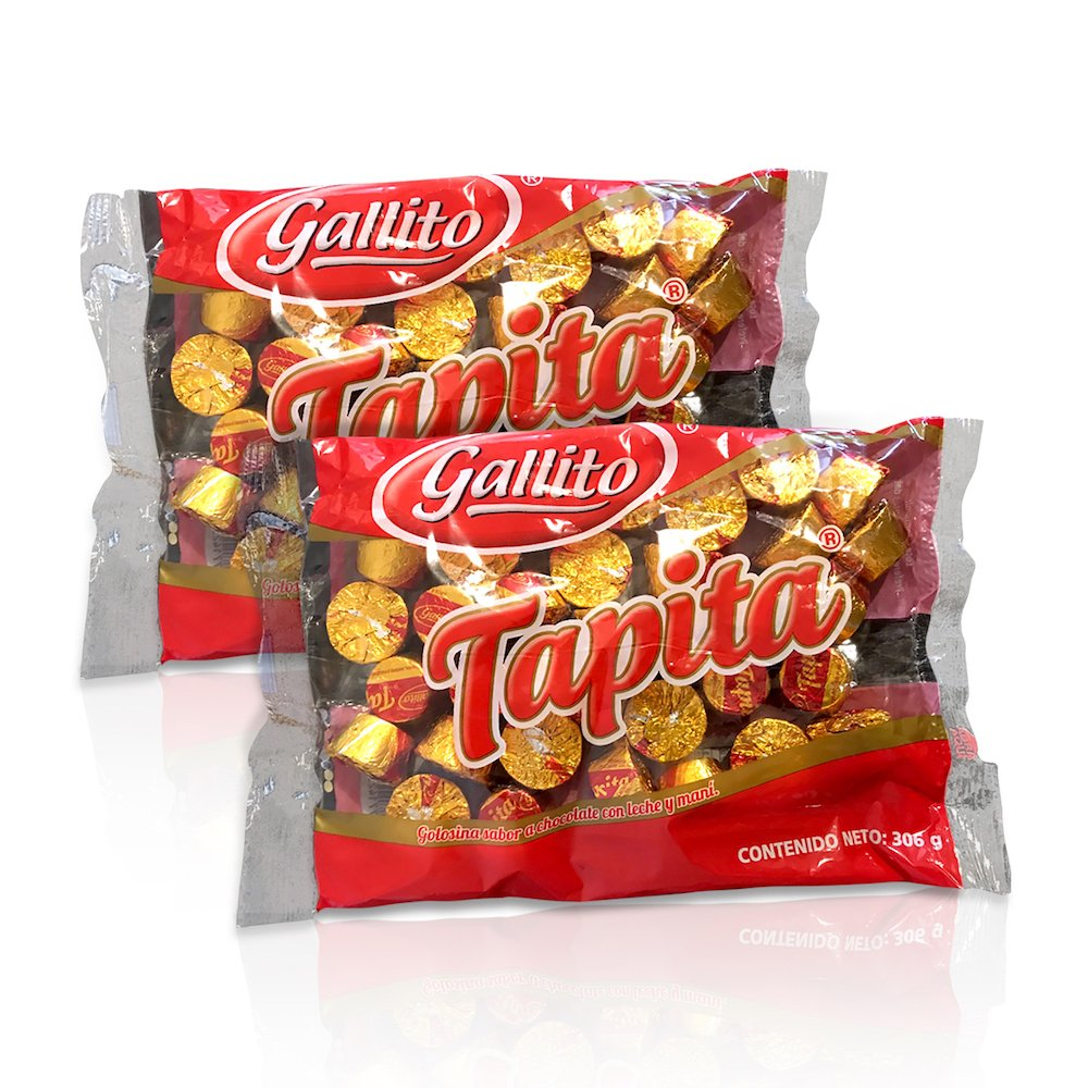 Gallito Tapita Chocolates, 2 Bags of 10.8 Ounces