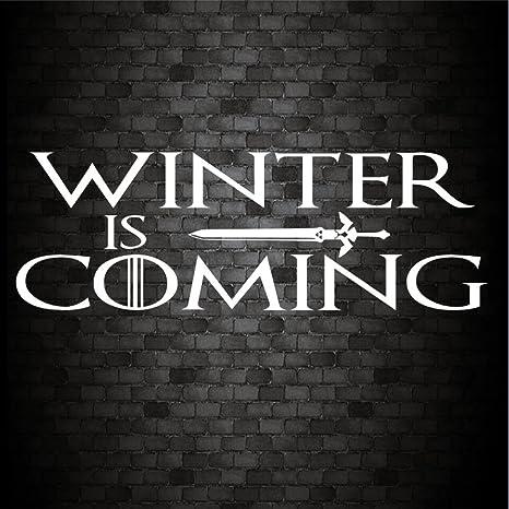 Winter Is Coming Funny Auto Fenster Bumper Game Of Thrones Vinyl Aufkleber Aufkleber Auto