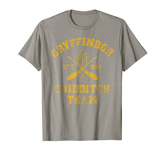 42c3ade66 Image Unavailable. Image not available for. Color: Mens Gryffindor Quidditch  Team T-Shirt ...