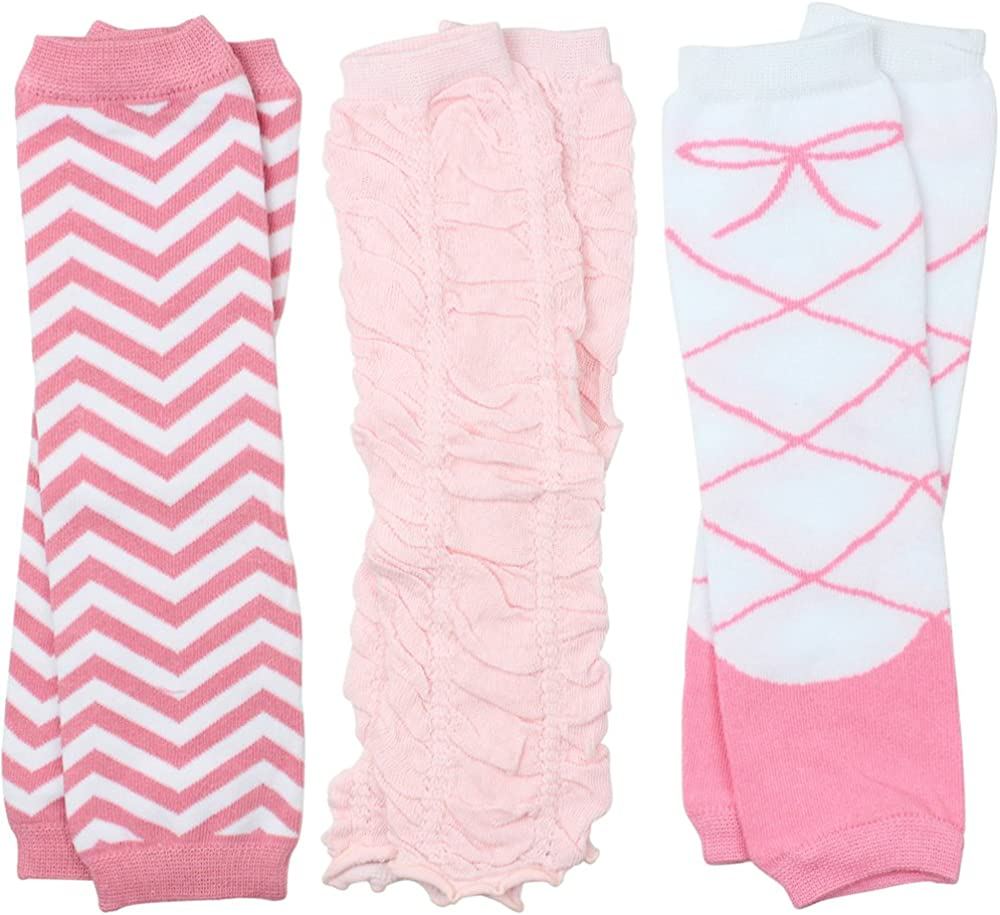 Child 3 Pairs of Girls juDanzy Baby Leg Warmers for Newborn Infant Toddler