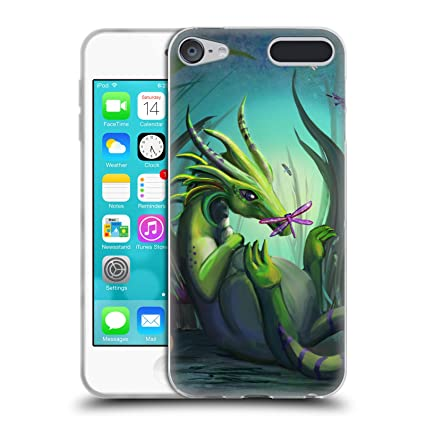 Amazon.com  Official Rose Khan Baby Green Dragons Soft Gel Case for ... a607f5b4b86