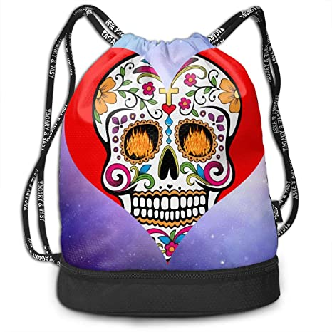 bf062719d04f Amazon.com: Zhangyi Day of The Dead Sugar Skull Assorted Colors ...