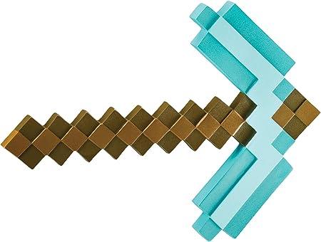 Producto de Minecraft.,Tu disfraz de Minecraft no está completo sin su juguete Minecraft Pickaxe.,De