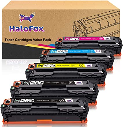 5 pk 131 Black Toner for Canon LBP7110Cw MF8280Cw Printer FREE SHIPPING!
