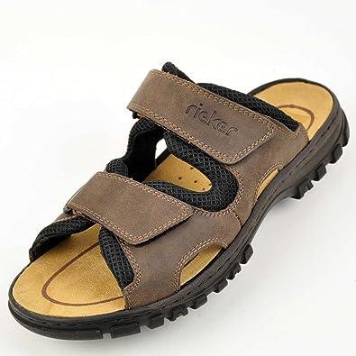 Rieker Pantoletten 46: Schuhe & Handtaschen