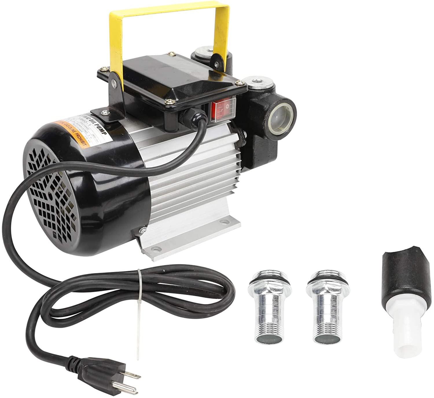 BLACKHORSE-RACING Self Priming 110v Ac 16GPM 60L/min Oil Transfer Pump Fuel Diesel Kerosene Biodiesel Pumps