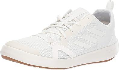 adidas Men's Terrex CC Boat Water Shoe, Non DyedChalk WhiteGrey, 10.5 M US